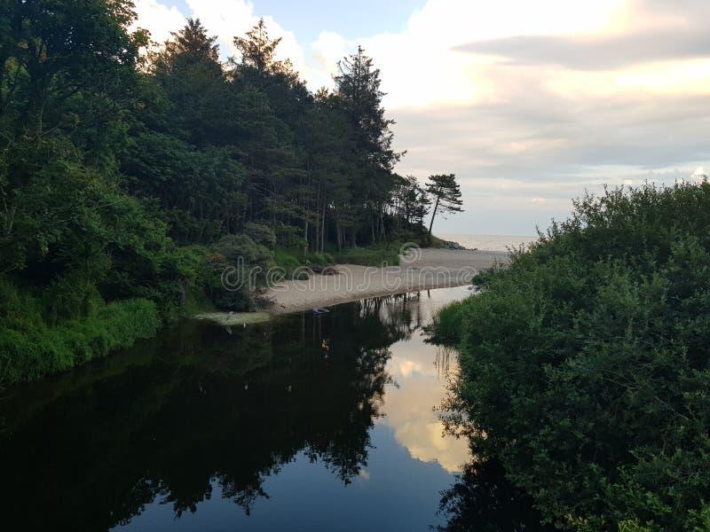 Courtown Goye'xfornt Ιρλανδία στοκ εικόνες