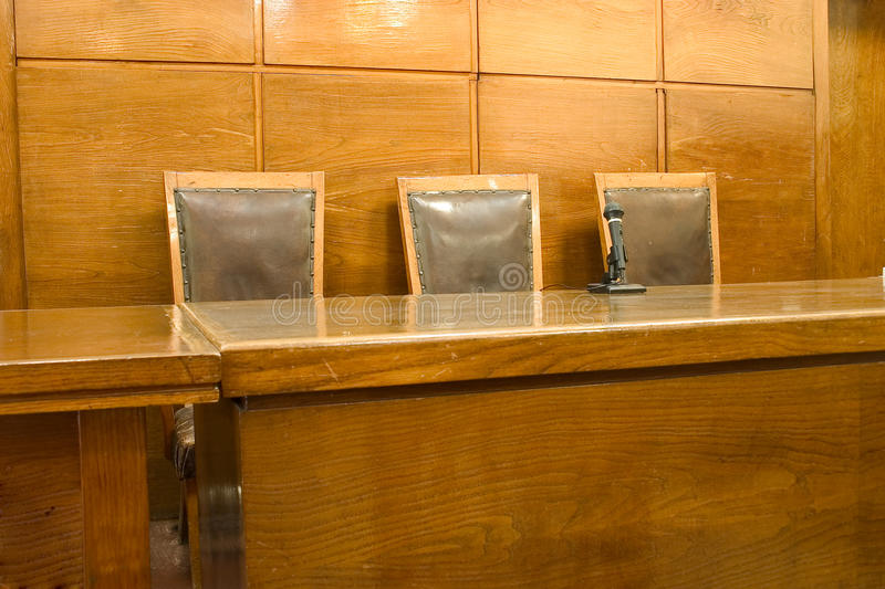 Courtroom royalty free stock photos