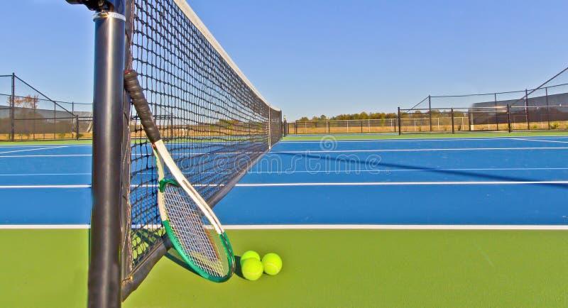 Courts de tennis photo stock