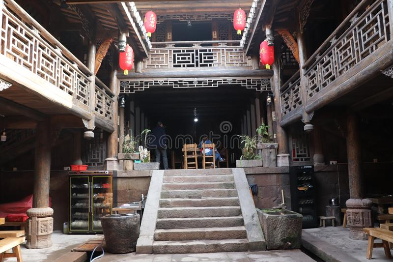 Courtyard Dwellings stock images
