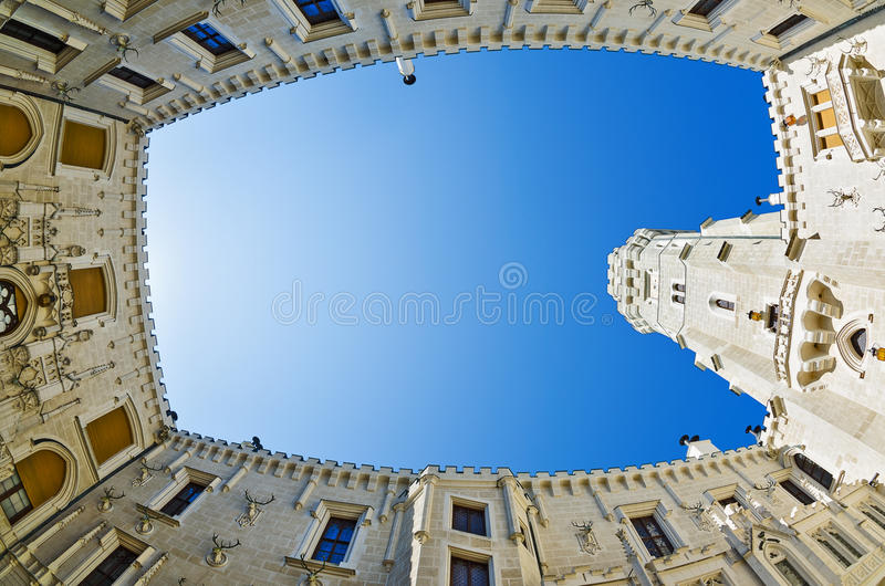 Download Courtyard Of Hluboka Nad Vltavou Castle Editorial Photography - Image: 37961312