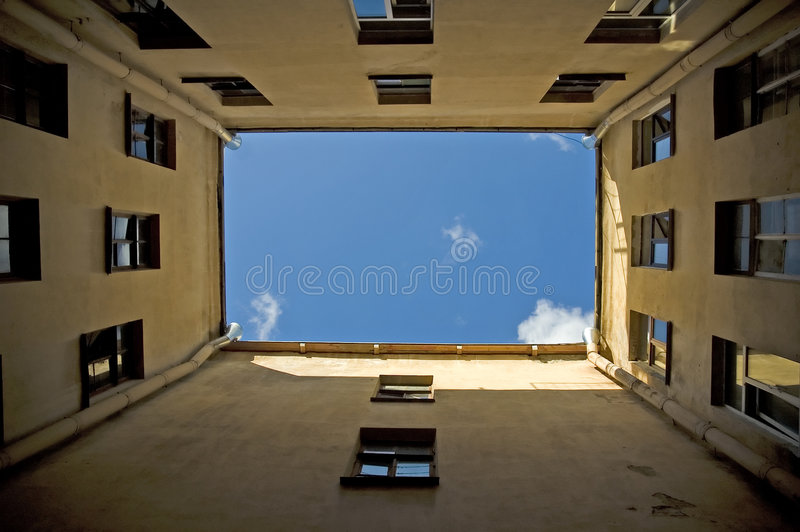 Download Courtyard In Saint-Petersburg Stock Photo - Image: 6976886
