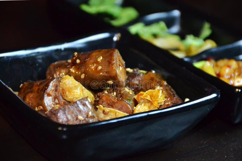 Cous chinois de canard de nourriture-rôti photos libres de droits