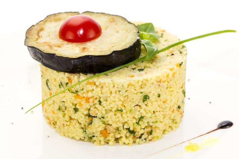 Couscous arkivbild