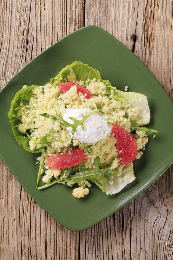 Download Couscous salad stock photo. Image of snack, lettuce, greens - 16597730