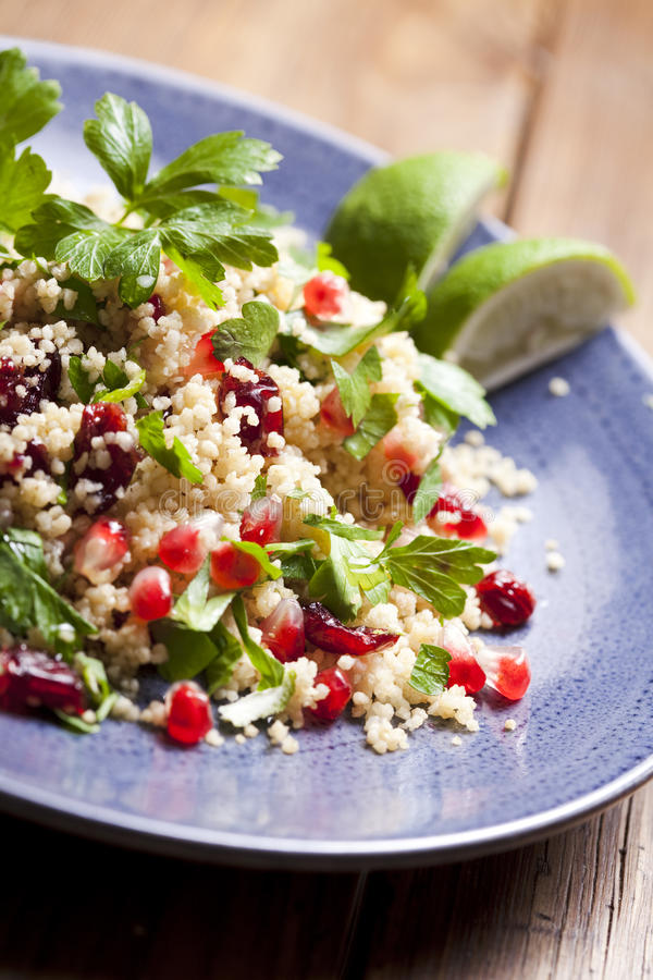 Download Couscous salad stock image. Image of eating, lemon, vegetarian - 17121309