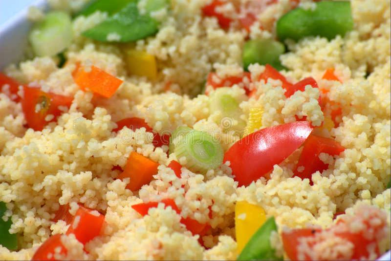 Download Couscous salad stock photo. Image of spring, alfresco - 5362592
