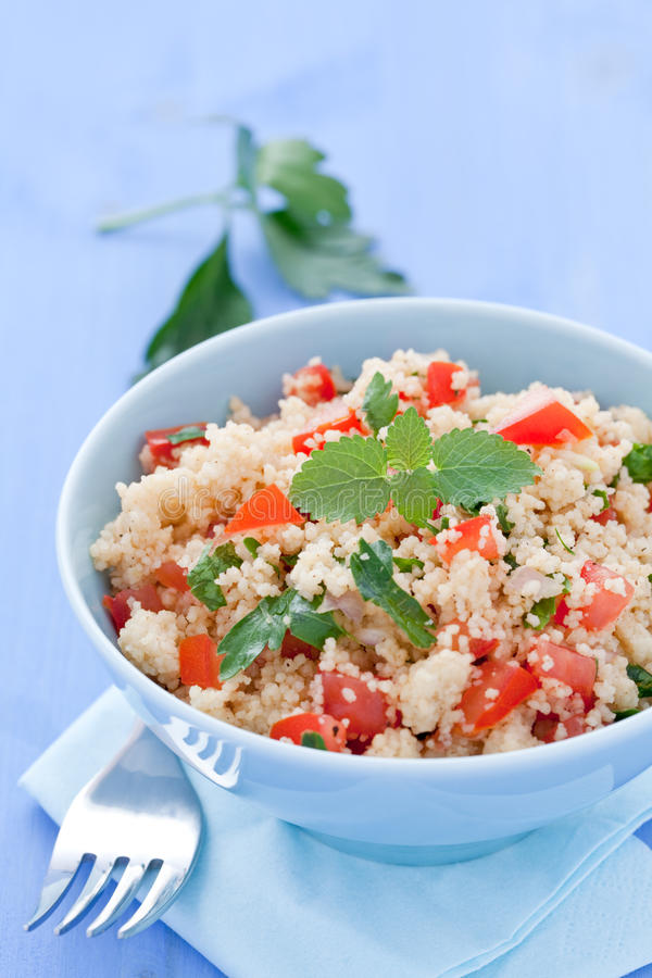 Couscous With Tomato Royalty Free Stock Image
