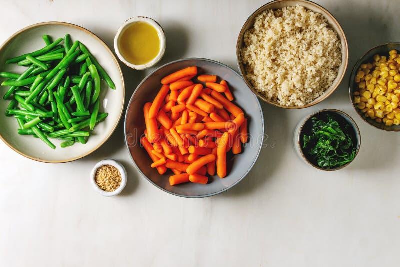 Couscous z warzywami zdjęcie stock