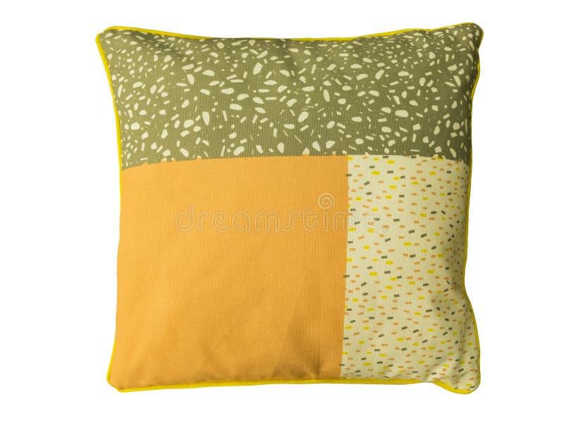 Coussin décoratif de divan photo stock