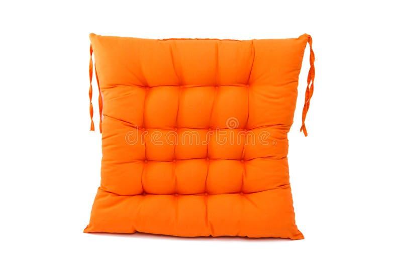 coussin de chaise d'isolement photographie stock
