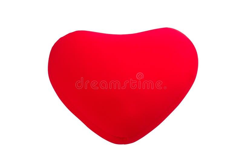 Coussin de forme de coeur image libre de droits