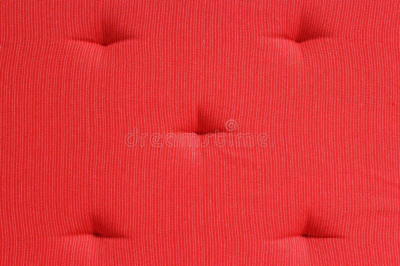 Coussin rouge photographie stock libre de droits
