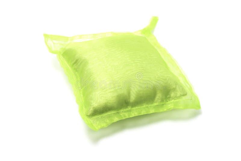 Coussin vert photo stock