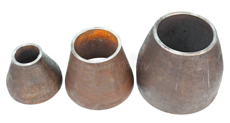 Coussinets en métal image libre de droits