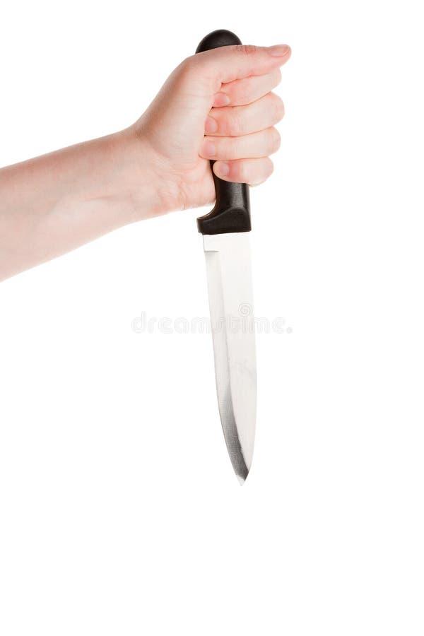 Couteau à disposition photos stock