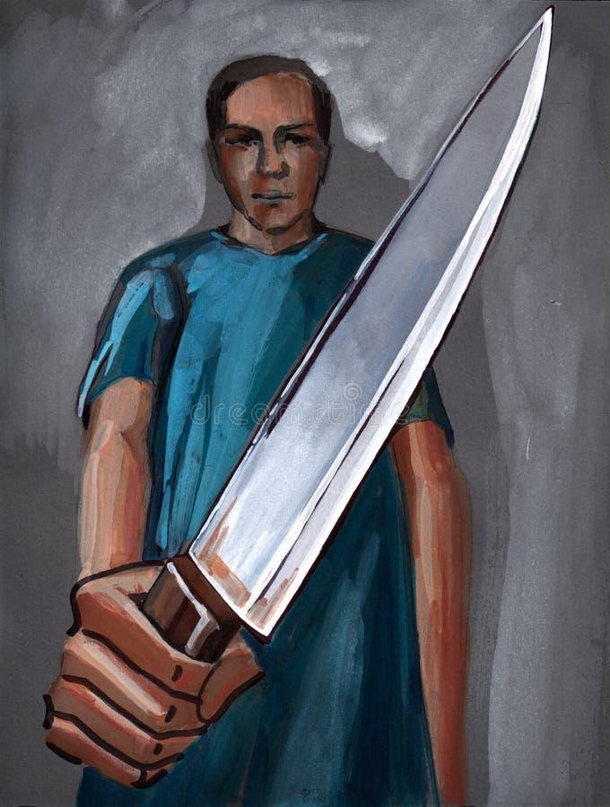 Couteau illustration stock