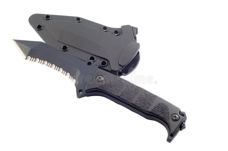 Couteau avec la gaine photos stock