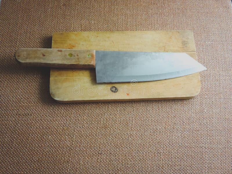 Couteau de boucher photo libre de droits