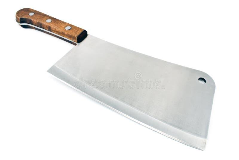 Couteau de fendoir de viande images libres de droits