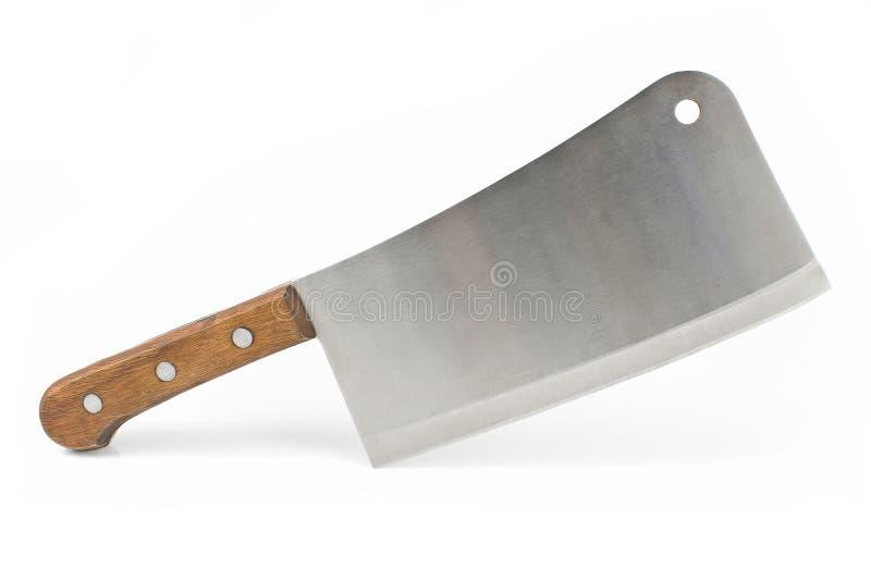 Couteau de fendoir de viande image libre de droits