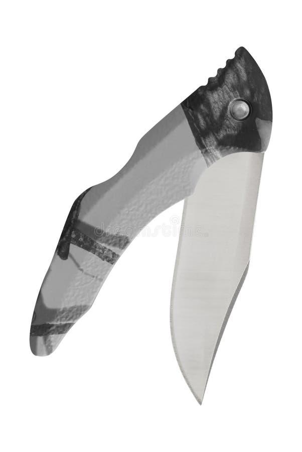 Couteau de poche pointu en métal photos libres de droits