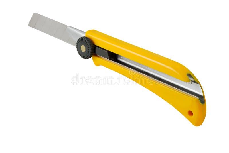 Couteau de service photographie stock libre de droits
