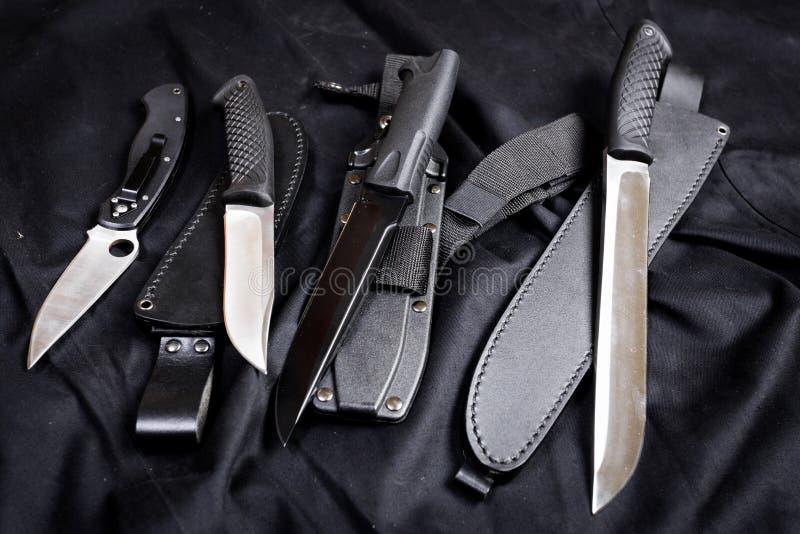 Couteau militaire photographie stock