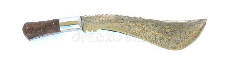 Couteau oriental photographie stock