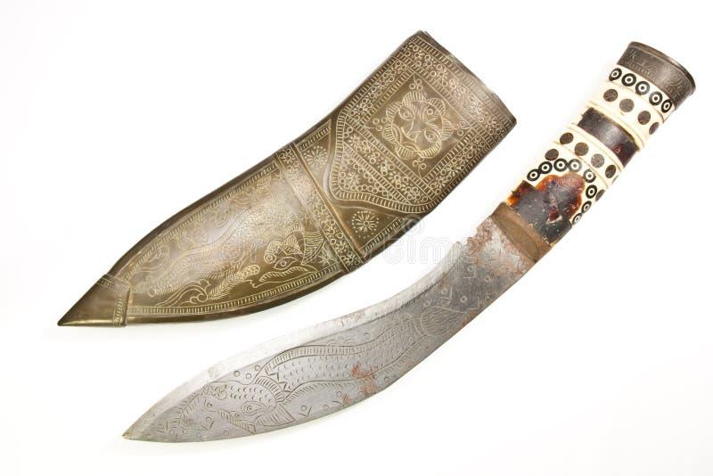 Couteaux antiques photographie stock