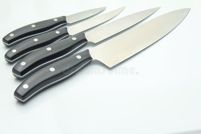 Couteaux de chefs images stock