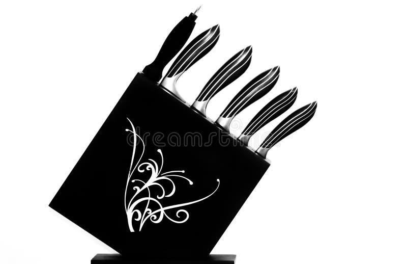 Couteaux de cuisine images stock
