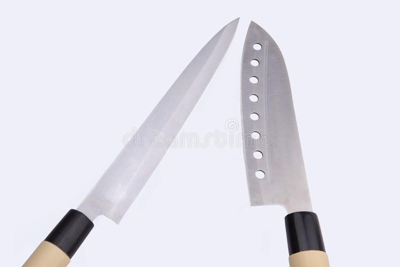 Couteaux de sushi photographie stock