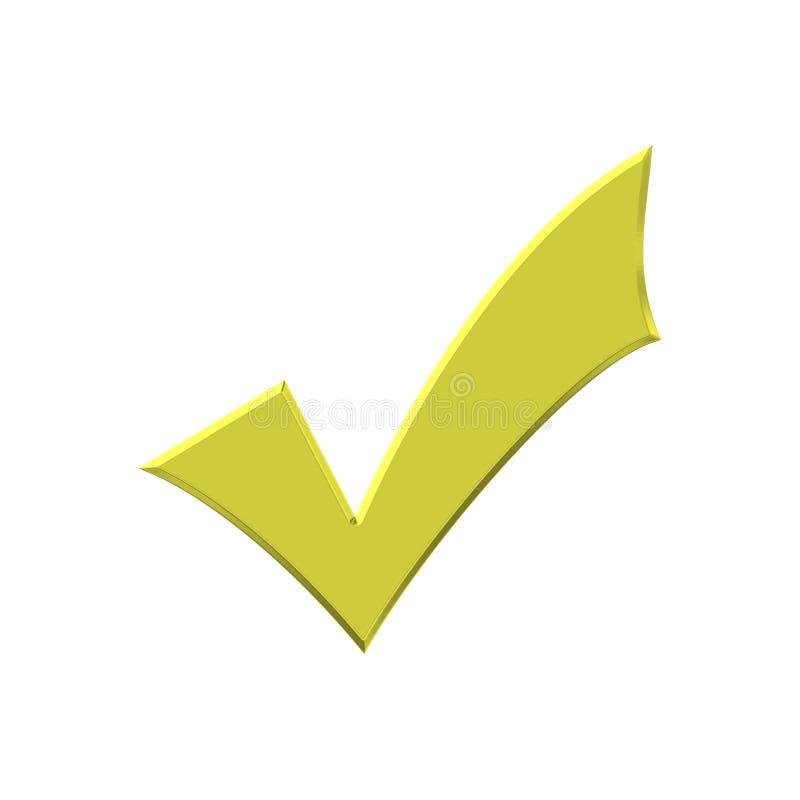Coutil d'or illustration de vecteur