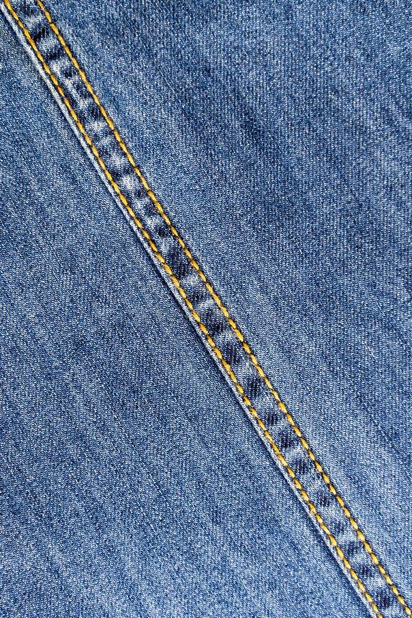 Couture de jeans photo libre de droits