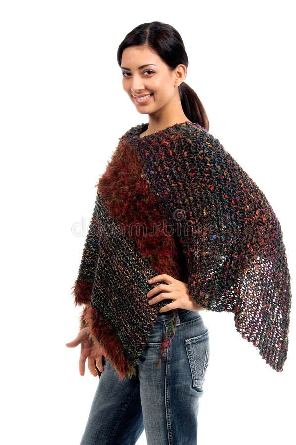 Couture Shawl Stock Images