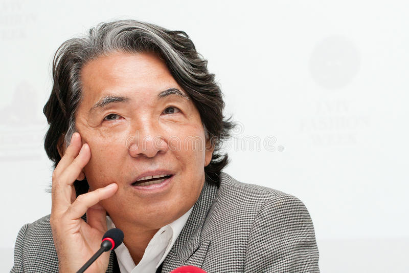 Couturier Kenzo Takada image stock