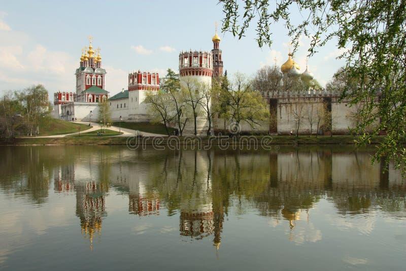 Couvent de Novodevichiy à Moscou photos stock