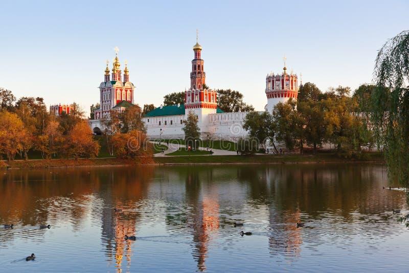 Couvent de Novodevichiy à Moscou Russie photo libre de droits