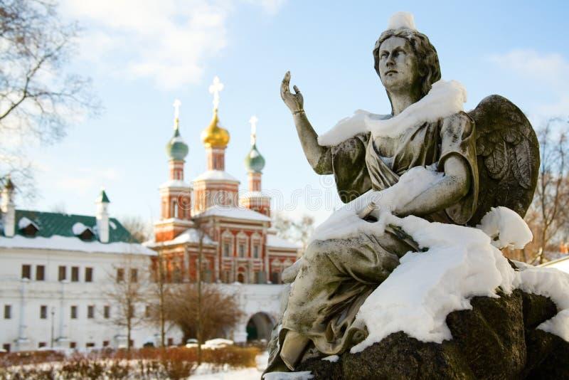 Couvent de Novodevichy à Moscou photos libres de droits