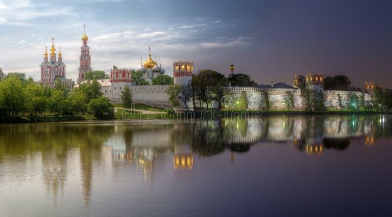 Couvent de Novodevichy, également connu sous le nom de monastère de Bogoroditse-Smolensky photographie stock