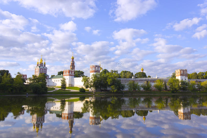 Couvent de Novodevichy image libre de droits