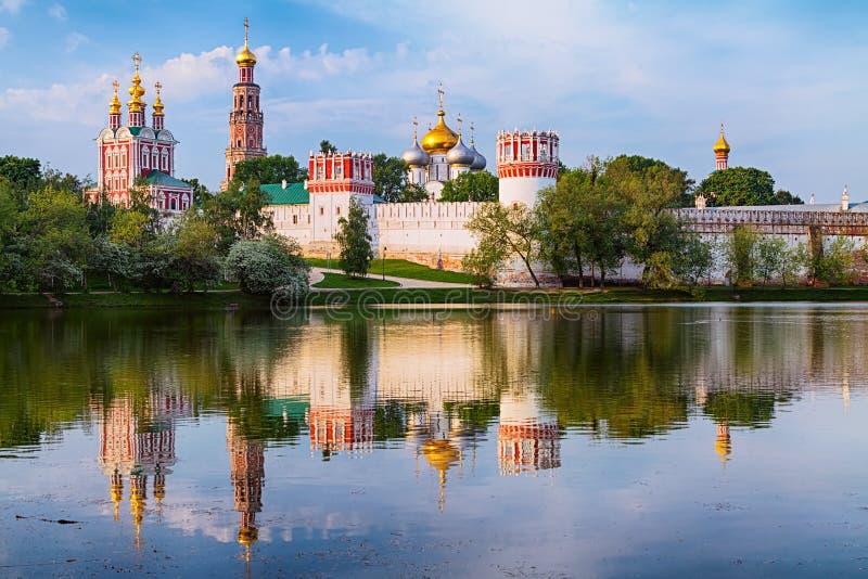 Couvent de Novodevichy images libres de droits
