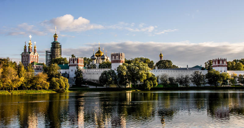 Couvent de Novodevichy, Moscou photos libres de droits