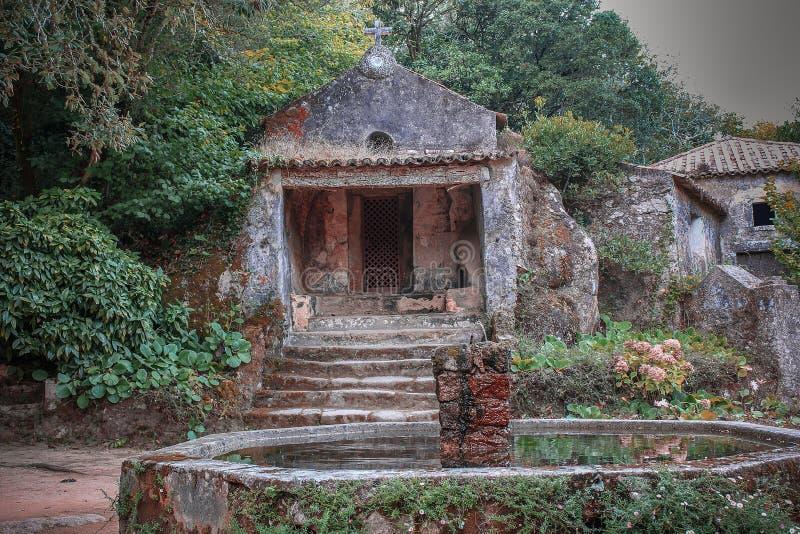 Couvent du Capuchos, Sintra photo stock