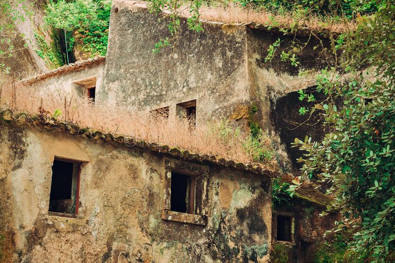 Couvent du Capuchos, Sintra images libres de droits