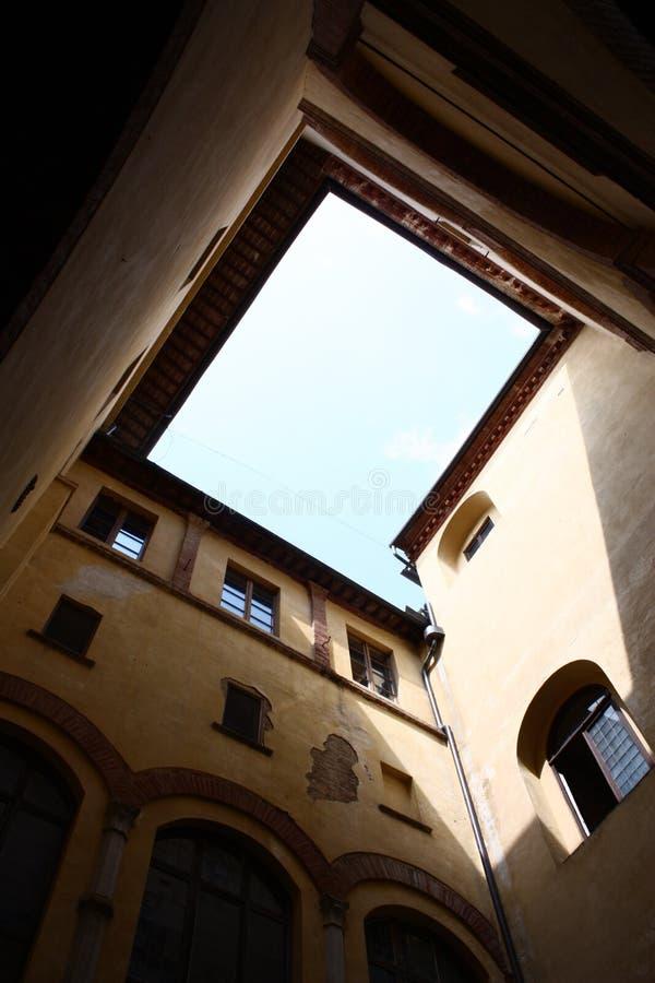 Couvent en la ciudad de Sienne foto de archivo libre de regalías