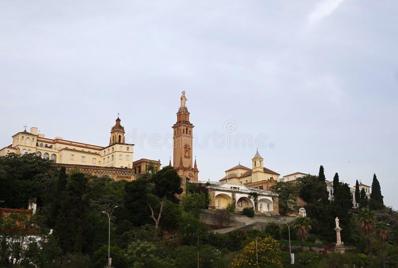 Couvent et ?glise du coeur sacr? de J?sus, San Juan de Aznalfarache, S?ville image libre de droits