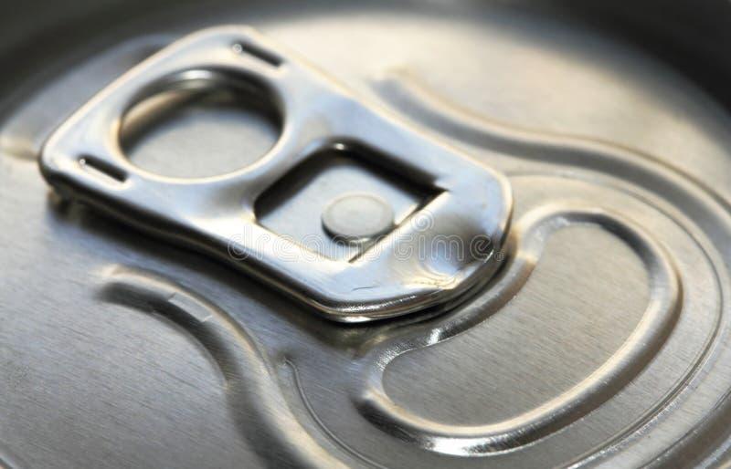 Couvercle métallique de bidon photo libre de droits