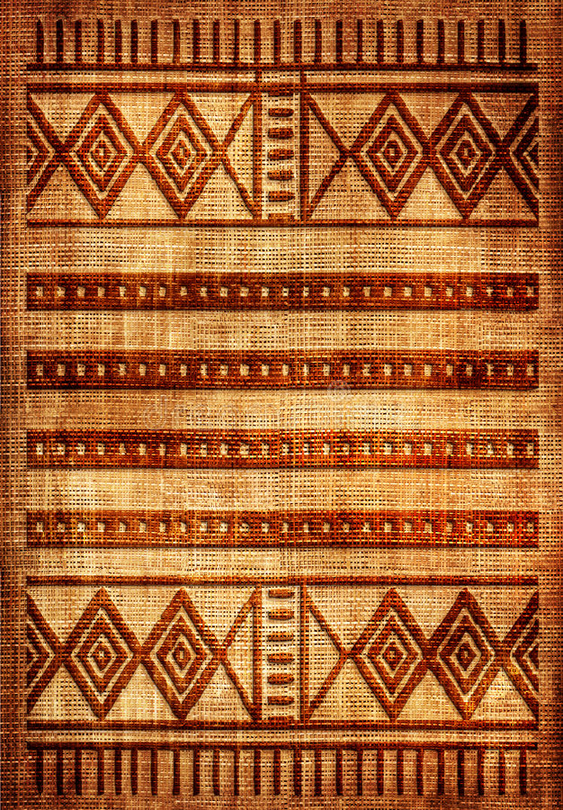 Couverture africaine images stock